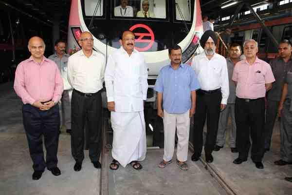 Central and Delhi Government Men on Track