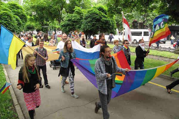 Lesbian, Gay, Bisexual, Transgender and Intersex (LGBTI) pride march. Photo: OHCHR / Joseph Smida