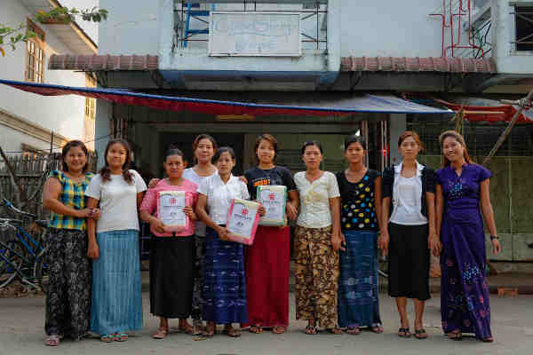 Women entrepreneurs in Myanmar. Photo: UN, ILO