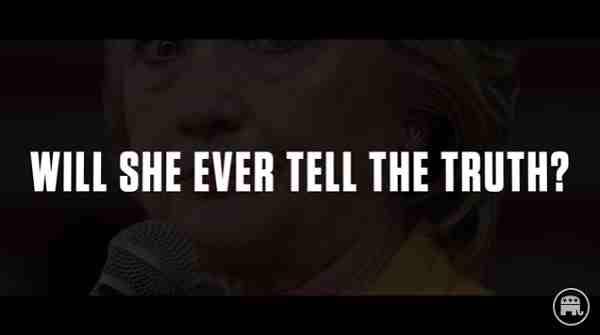 New Hillary Clinton Video: Caught Lying Again