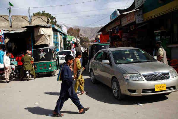 Street scene in Quetta, Baluchistan province, Pakistan. Photo: UNICEF/Asad Zaidi