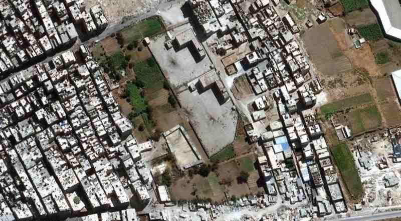 Damage from Attacks in Aleppo