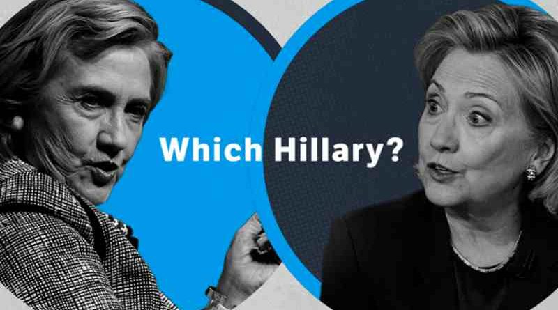 Republican Party Goes Online to Ask: Which Hillary?