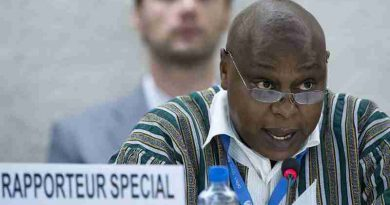 Special Rapporteur on the right to freedom of peacful assembly and of association Maina Kiai. UN Photo / Jean-Marc Ferré