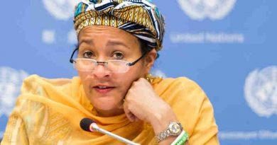 Amina J. Mohammed of Nigeria. UN Photo / Mark Garten
