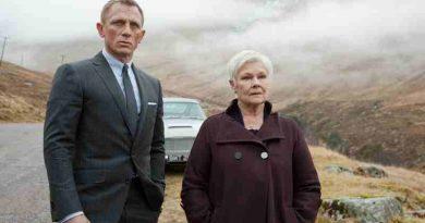 Daniel Craig with Dame Judi Dench