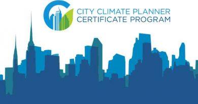 City Climate Planner Certificate Program