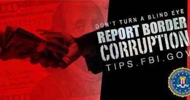 FBI Seeks Your Help to Stop Corruption on the Border