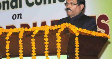 """Shripad Yesso Naik addressing at the inauguration of the International Conference on """"Yoga for Diabetes"""", in New Delhi on January 04, 2017"""