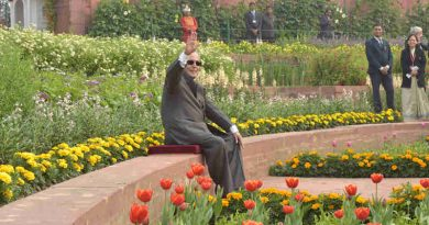 "The President, Shri Pranab Mukherjee opens the annual ""Udyanotsav"" of the Mughal Gardens of Rashtrapati Bhavan, in New Delhi on February 04, 2017."