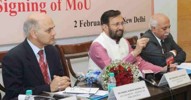 The Union Minister for Human Resource Development, Shri Prakash Javadekar addressing the signing ceremony of the MoU on TEQIP, in New Delhi on February 02, 2017