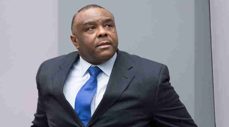 Former Congolese vice-president Jean-Pierre Bemba Gombo in the ICC courtroom during the delivery of his sentence on 21 June 2016. Photo: UN / ICC-CPI