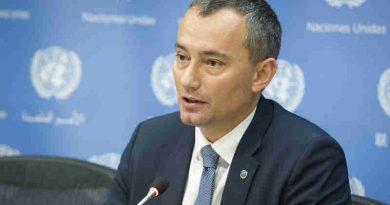 Nickolay Mladenov, UN Special Coordinator for the Middle East Peace Process. (file) UN Photo / Loey Felipe