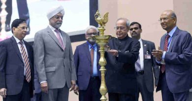 """The President, Shri Pranab Mukherjee lighting the lamp at the inauguration of the All India Seminar on """"Economic Reforms with Reference to Electoral Issues"""", organised by the Confederation of the Indian Bar, in New Delhi on April 08, 2017. The Chief Justice of India, Shri Justice J.S. Khehar and other dignitaries are also seen."""