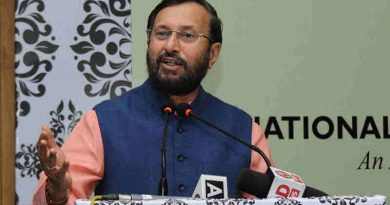 Prakash Javadekar addressing at the inauguration of the 'National Consultation on Revised Accreditation Framework', organised by the National Assessment and Accreditation Council (NAAC), in New Delhi on April 25, 2017