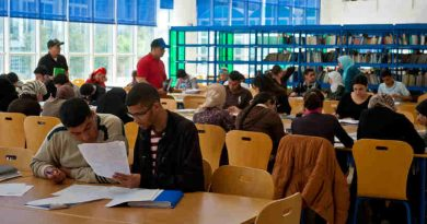 Students at a university library in Rabat, Morocco. Photo: Arne Hoel/World Bank
