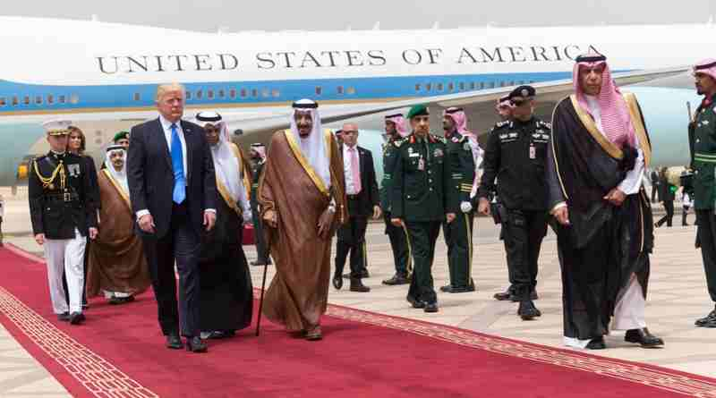 Donald Trump in Saudi Arabia. Photo: White House