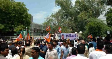 Delhi BJP Protests Against Kejriwal for Power and Water Crises (file photo)