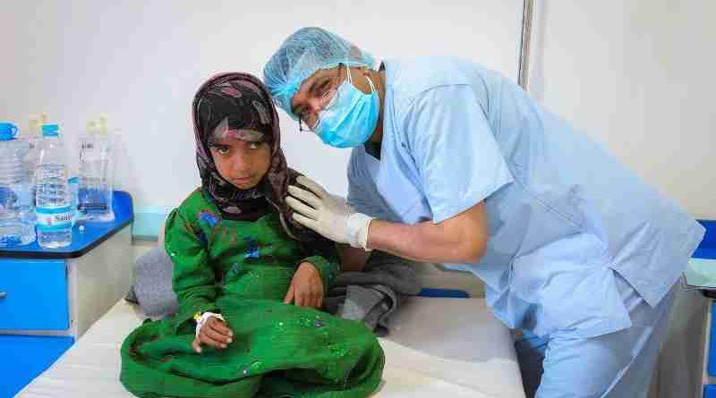 Number of Suspected Cholera Cases Reaches 100,000 in Yemen