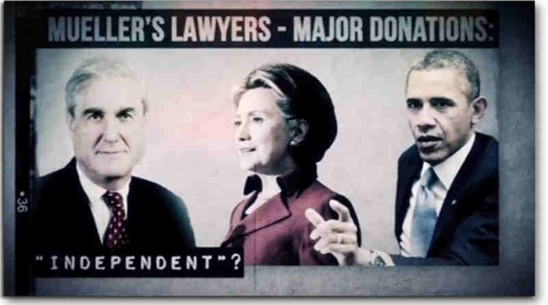 The ad questions the independence and credibility of Robert Mueller's Russian Investigation.