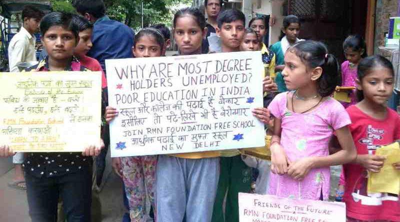 RMN Foundation Launches Education Awareness Campaign in Delhi