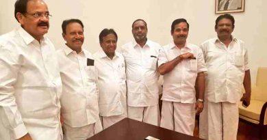 Venkaiah Naidu Resigns