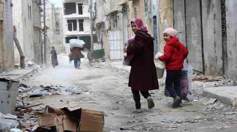 Internally Displaced People Return to Syria