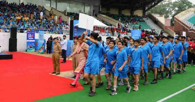 Curtain Raiser function for FIFA Under 17 World Cup 2017, in New Delhi on August 19, 2017