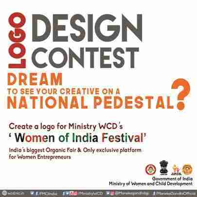 Logo Design Contest for Women of India Festival