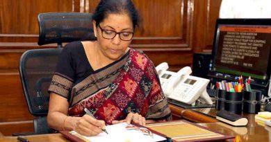 Nirmala Sitharaman (file photo) Photo: PIB