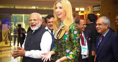 PM Narendra Modi with Ivanka Trump