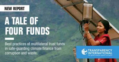A Tale of Four Funds Report by Transparency International