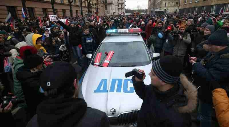 Protests Against Putin in Russia