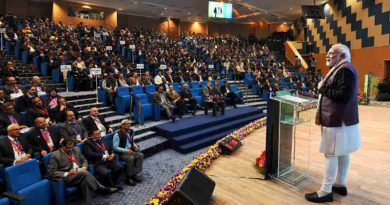 The Prime Minister, Shri Narendra Modi addressing the Conference on Transformation of Aspirational Districts, at the Dr. Ambedkar International Centre, in New Delhi on January 05, 2018.