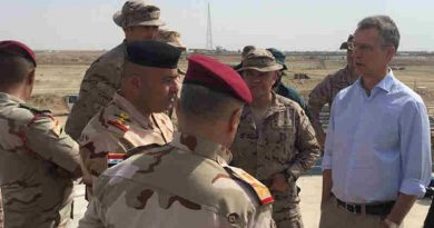 NATO Secretary General Jens Stoltenberg on an official visit to Iraq. Photo: NATO