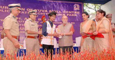 Delhi LG Anil Baijal Opens Delhi Police Skill Centre for Youth
