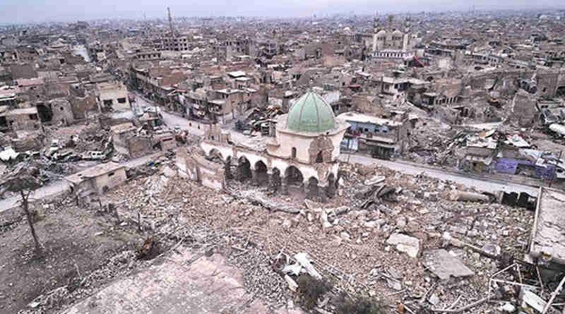 Al-Nouri Mosque, Mosul, Iraq. Photo: UNESCO / ICONEM