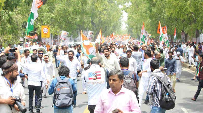 Youth Congress Holds Save India Protest (file photo). Courtesy: Youth Congress
