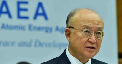 IAEA Director General Yukiya Amano delivers his introductory statement to the 1485th Board of Governors Meeting. Photo: Dean Calma / IAEA