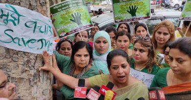 Mahila Congress Holds Save the Tree Campaign in Delhi (file photo)