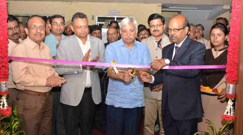 The Election Commissioner, Shri Sunil Arora inaugurates a new Manufacturing Facility for EVM Production at Bharat Electronics Limited, Bangalore on July 19, 2018.