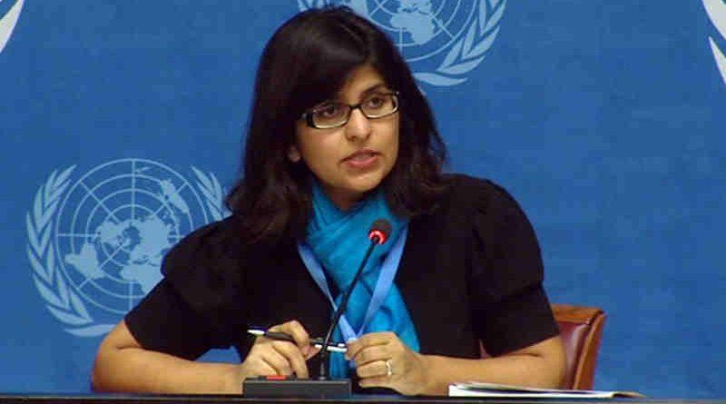 OHCHR spokesperson Ravina Shamdasani. Photo: UN