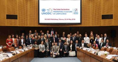 Education for Justice. Photo: UNODC