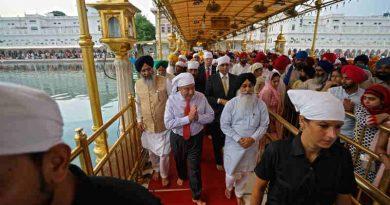 UN Chief António Guterres Visits Golden Temple in Amritsar. Photo: UN