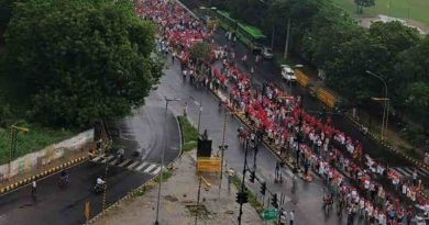 Farmers' march from Ramlila Maidan to Parliament Street in Delhi (file photo). Courtesy: CPI(M)