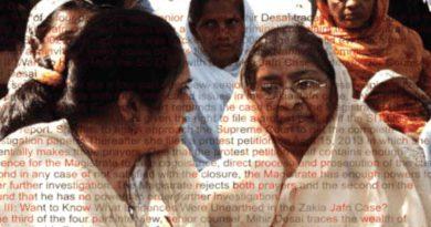Zakia Jafri Case of Gujarat Riots. Photo courtesy: CJP