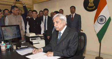 Chief Election Commissioner of India, Sunil Arora, in New Delhi. Photo: PIB (file photo)