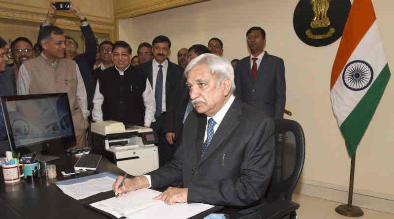 Chief Election Commissioner of India, Sunil Arora, in New Delhi. Photo: PIB (file photo)