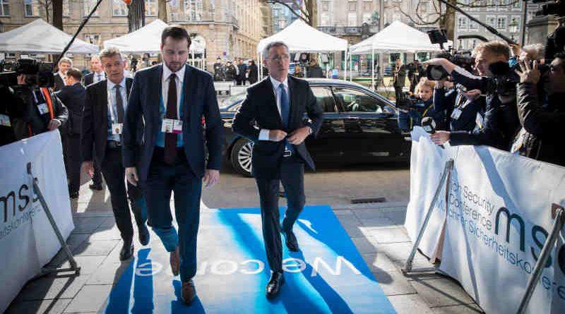 NATO Secretary General Jens Stoltenberg participates in the Munich Security Conference on February 15, 2019. Photo: NATO