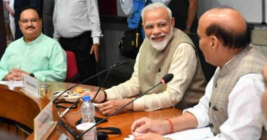 Narendra Modi chairing an all party meeting, in New Delhi on June 19, 2019. Photo: PIB